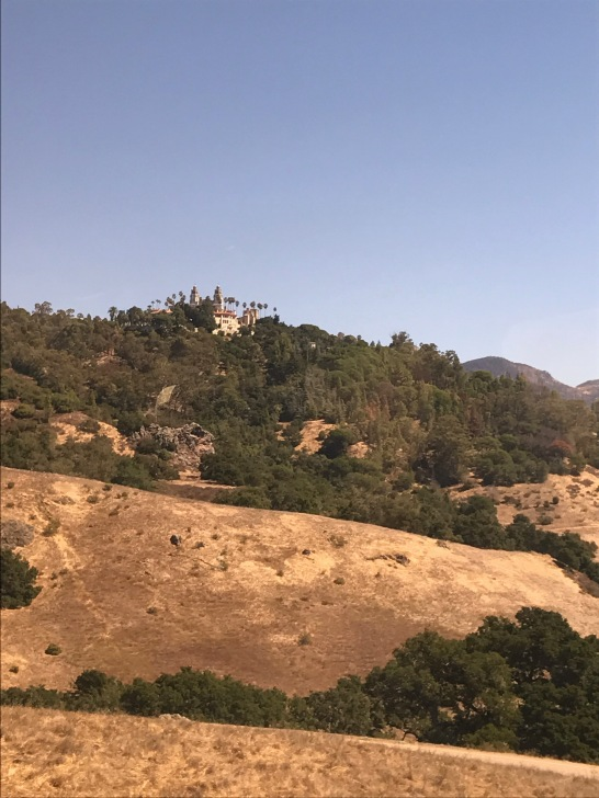 The Enchanted Hill, Hearst from the bus