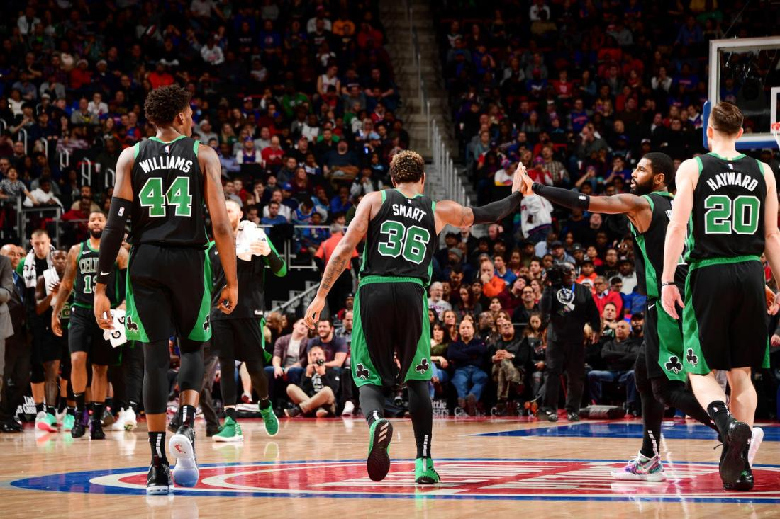 Boston Celtics v Detroit Pistons